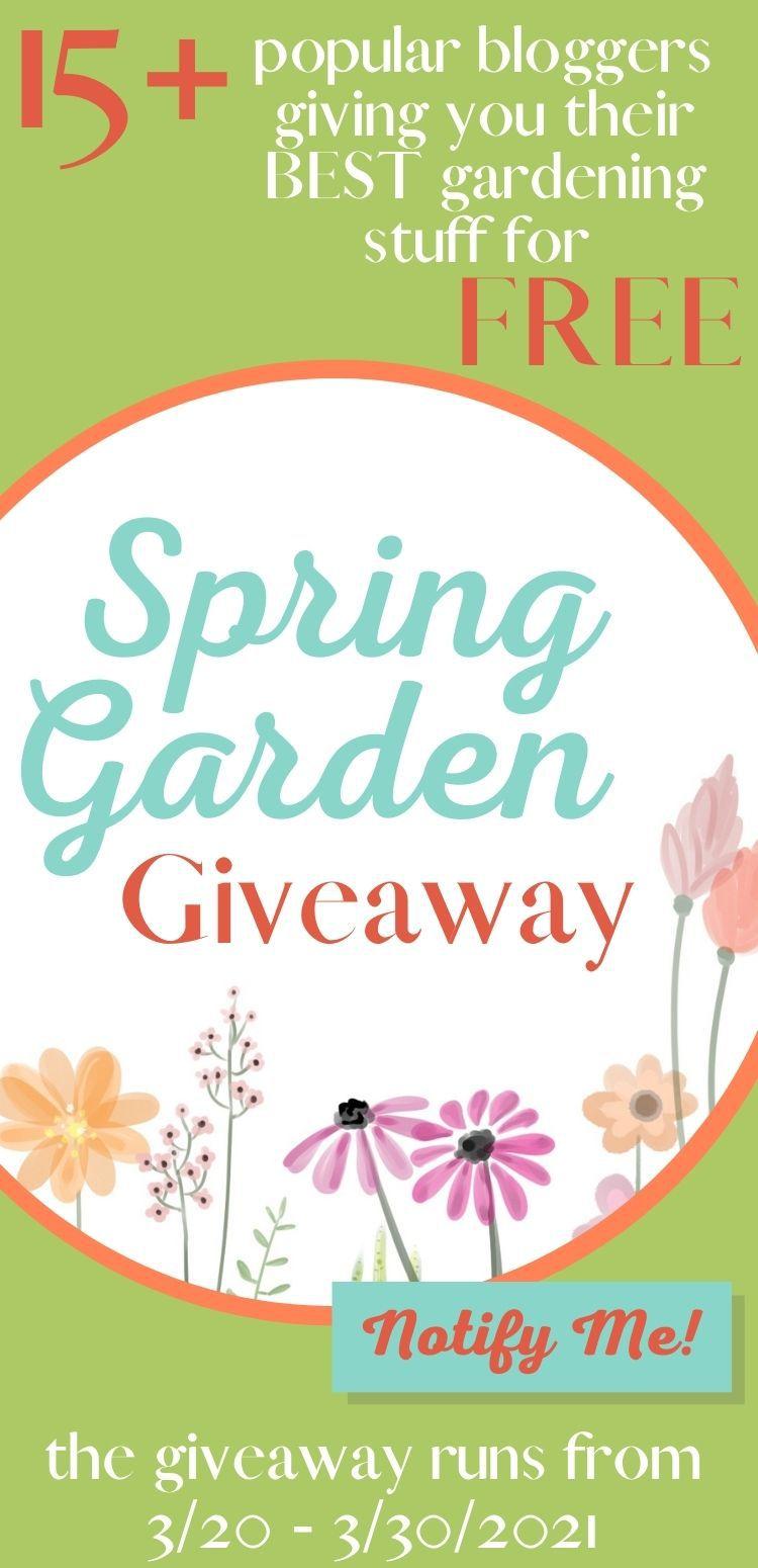 Spring Garden Giveaway 2021 - GardenBundle.net